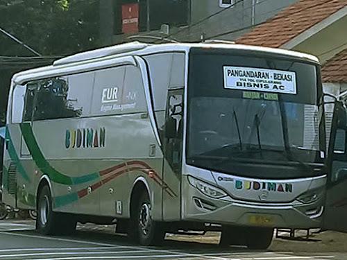 Bus Budiman Pangandaran