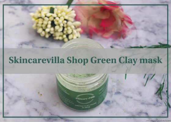 Face mask, green clay, healthy, affordable
