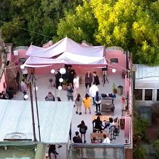 Fiesta clandestina en Hostel de Palermo