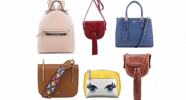 Bolsas Femininas tendência para a moda primavera-verão de 2017