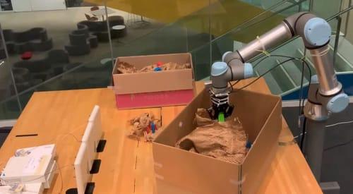 RF-Grasp ... a hidden object-sensing robot
