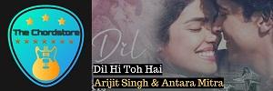 DIL HI TO HAI Guitar Chords by Arijit Singh & Antara Mitra (The Sky Is Pink)
