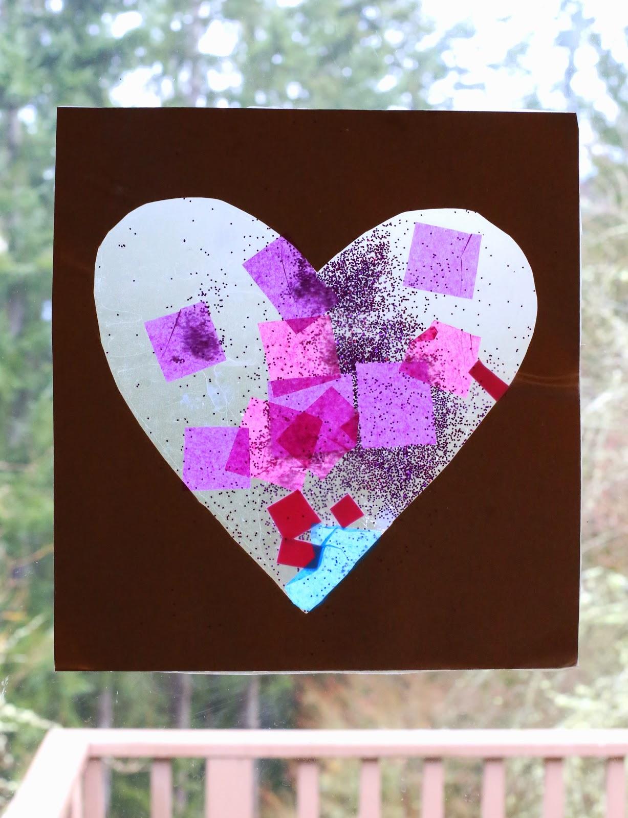 Easy Baby/Toddler Valentine's Day Art