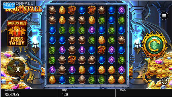 Main Gratis Slot Indonesia - Dragonfall (Blueprint Gaming)
