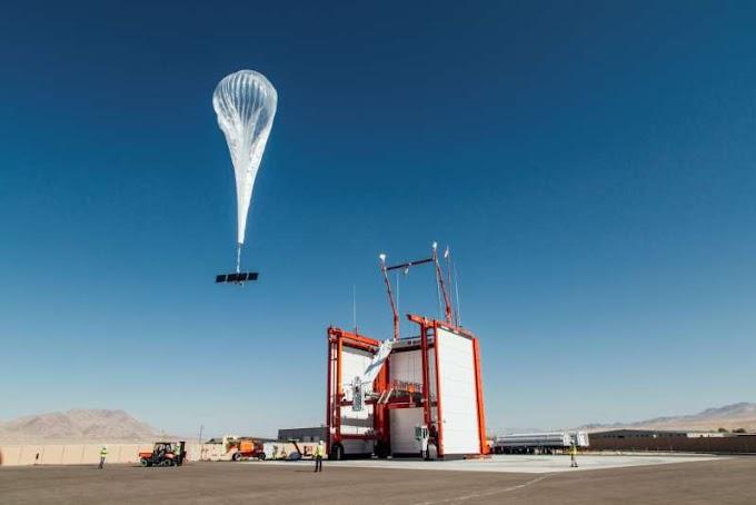 Google's Loon brings internet-by-balloon to Kenya