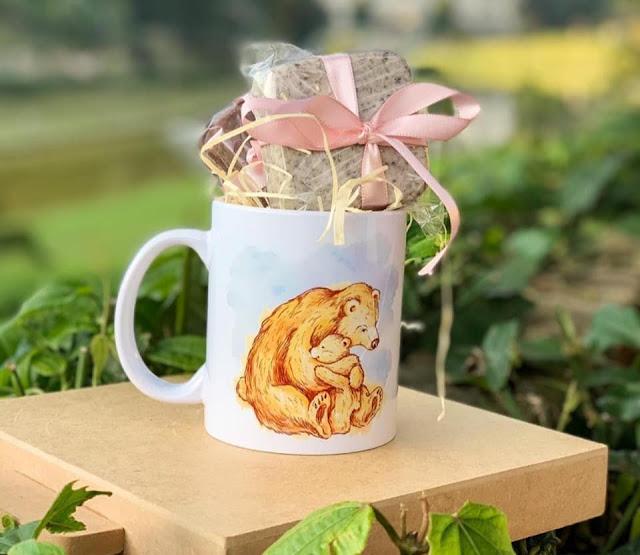 Canecas personalizadas com brownie chef Joanna Menescal