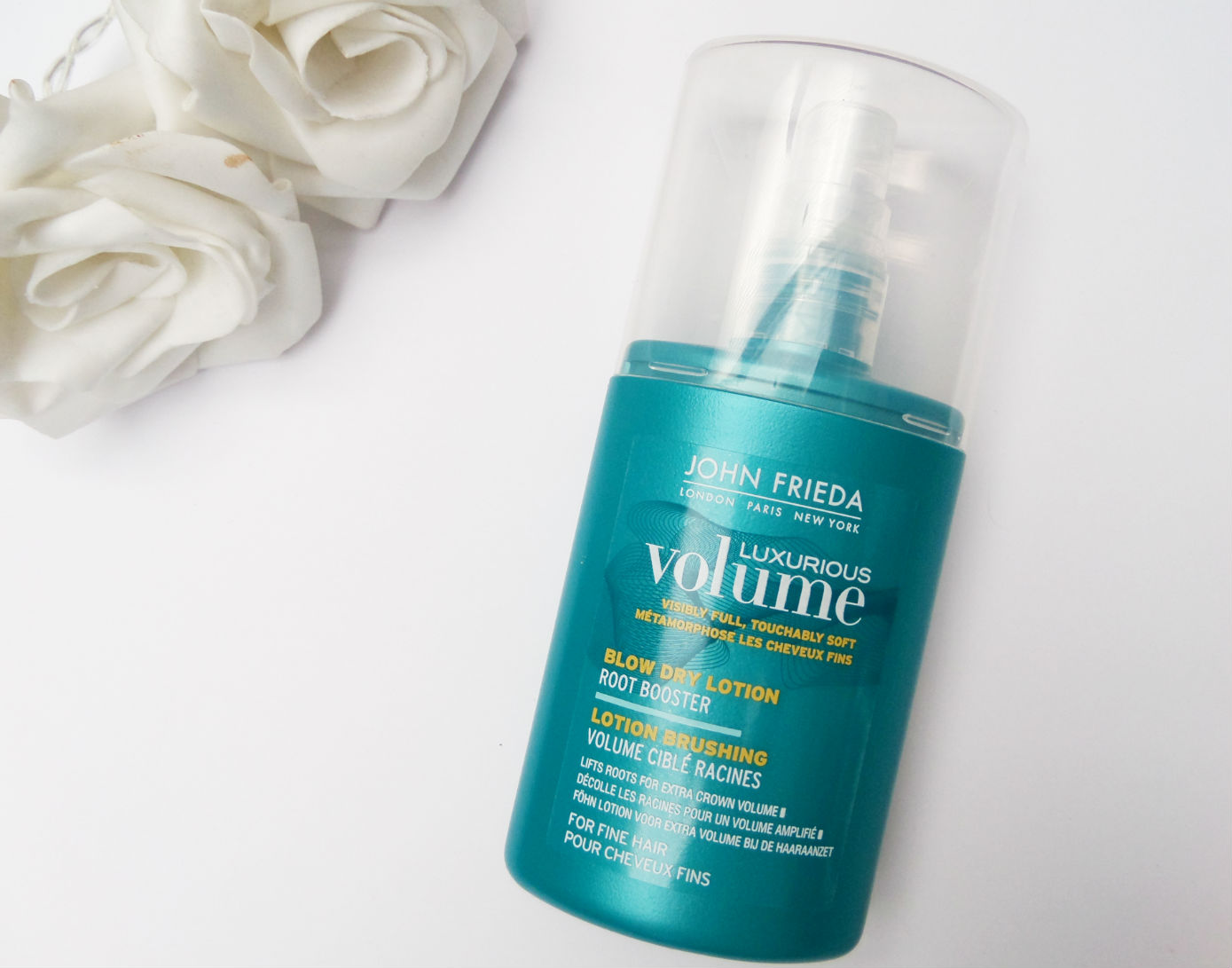 John Frieda Luxurious Volume Blow Dry Spray Review