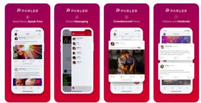 Apple menangguhkan aplikasi Parler dari App Store