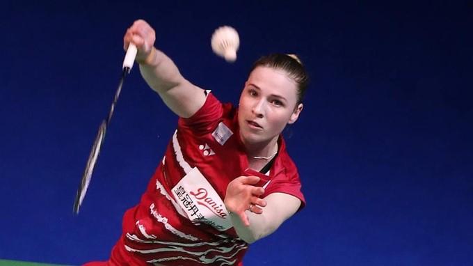 Line Kjaersfeldt European Games Badminton