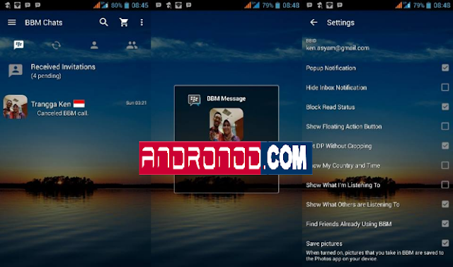 BBM Mod Transparan v3.1.0.13 Update Version