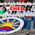 How to Apply Scholarship on CHED (Commission on Higher Education) (Requirements)