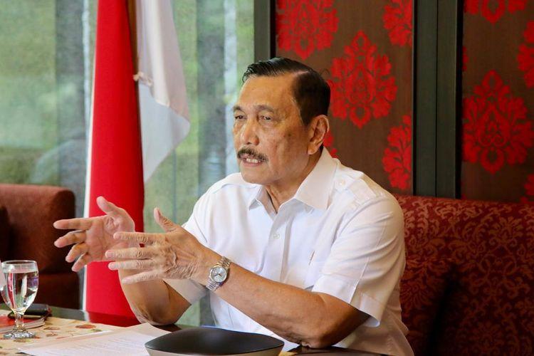 Sebut Dirinya Ditelepon Jokowi Hingga Tiga Kali Sehari, LBP: Beliau Ingatkan Jangan Ada Rakyat Tak Makan