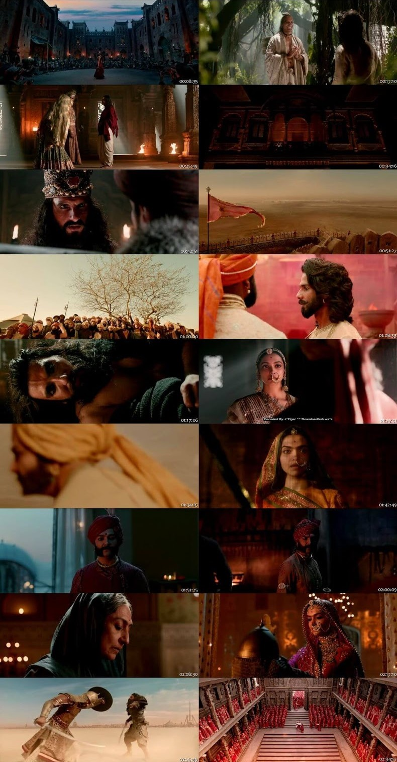 Padmaavat 2018 Hindi Full Movie 480p 450MB HDRip ESubs