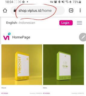 halaman web viplus