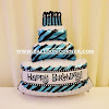 Balon Foil Happy Birthday Cake Jumbo (NEW COLOUR)