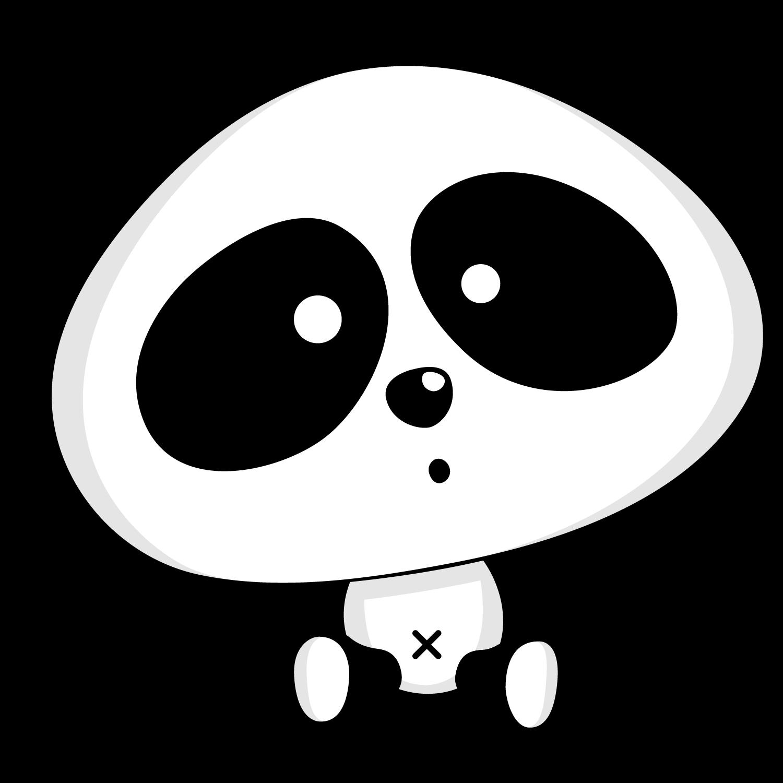 Clipart de Osos Panda.