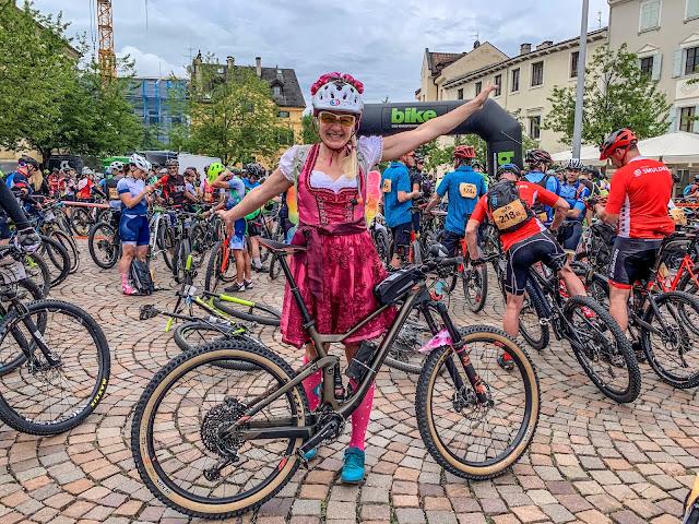 Bike Transalp 2019 Mountainbike Rennen Tux, Brixen, Molveno, St. Vigil