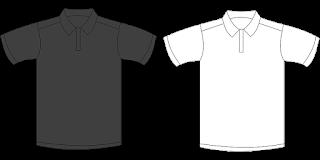 Kaos Polos Depan Belakang