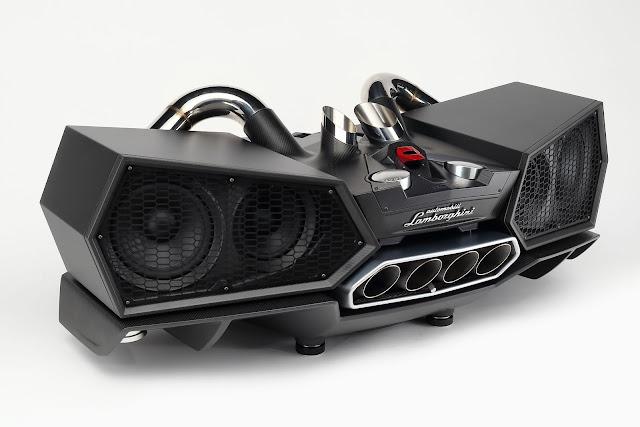 New Lamborghini Carbon Fiber Speakers Cost you $24.000
