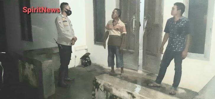 Bhabinkantibmas Desa Popo Intens Lakukan Patroli di Lingkungan Binaannya