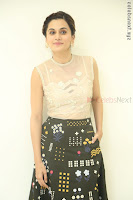 Taapsee Pannu in transparent top at Anando hma theatrical trailer launch ~  Exclusive 101.JPG