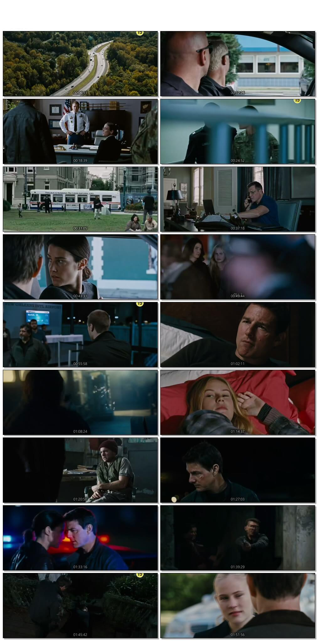 Screen Shot Of Jack Reacher 2 2016 Full Movie Download Free Watch Online 300MB