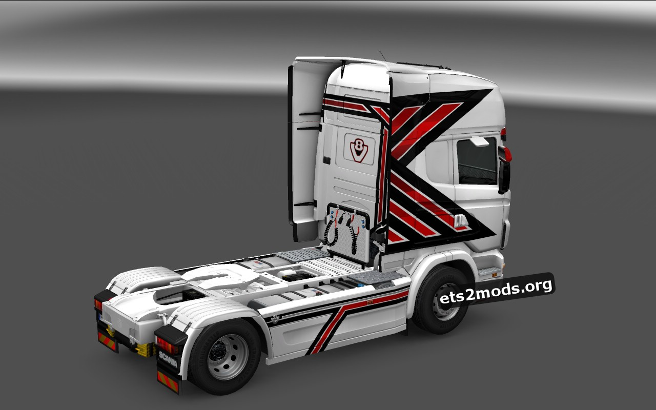 Majestic Power Skin for Scania RJL