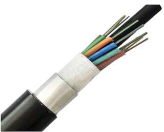 كيبل الليف الضوئي ذو الدرع المعدني Armored Cable