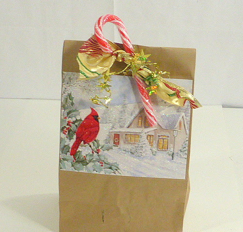 Too Pretty To Toss - Repurpose Christmas Cards and Ribbon