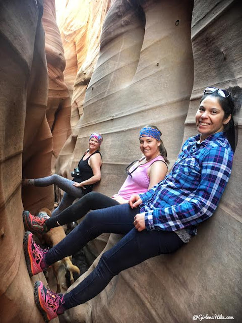 Hiking Zebra Slot Canyon, Hiking Utah's best slot canyons, Hiking in Grand Staircase Escalante National Monument