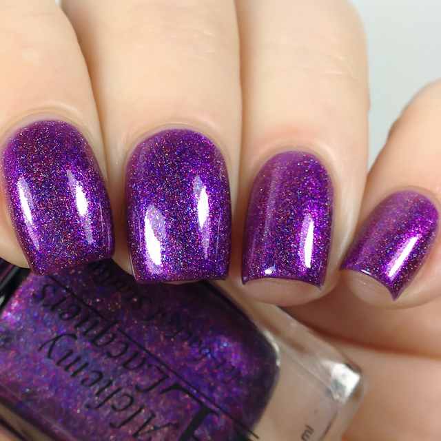Alchemy Lacquers-Violet-backed Starling