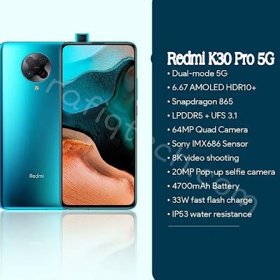 مواصفات  Redmi k30Pro