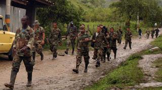 paramilitares colombianos, fuerzas de autodefensas en el norte del valle.