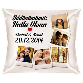romantik yastık modelleri