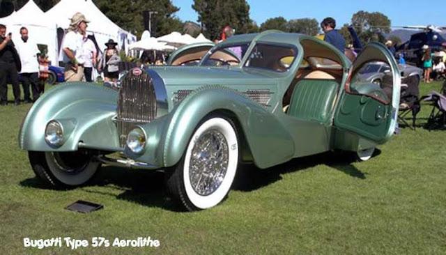 Bugatti Type 57s Aerolithe