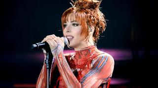 Французская певица Милен Фармер
