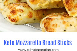 Keto Mozzarella Bread Sticks