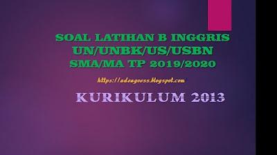 Download Soal Latihan SOSIOLOGI UN/UNBK/US/USBN SMA/MA Beserta Kunci Jawaban
