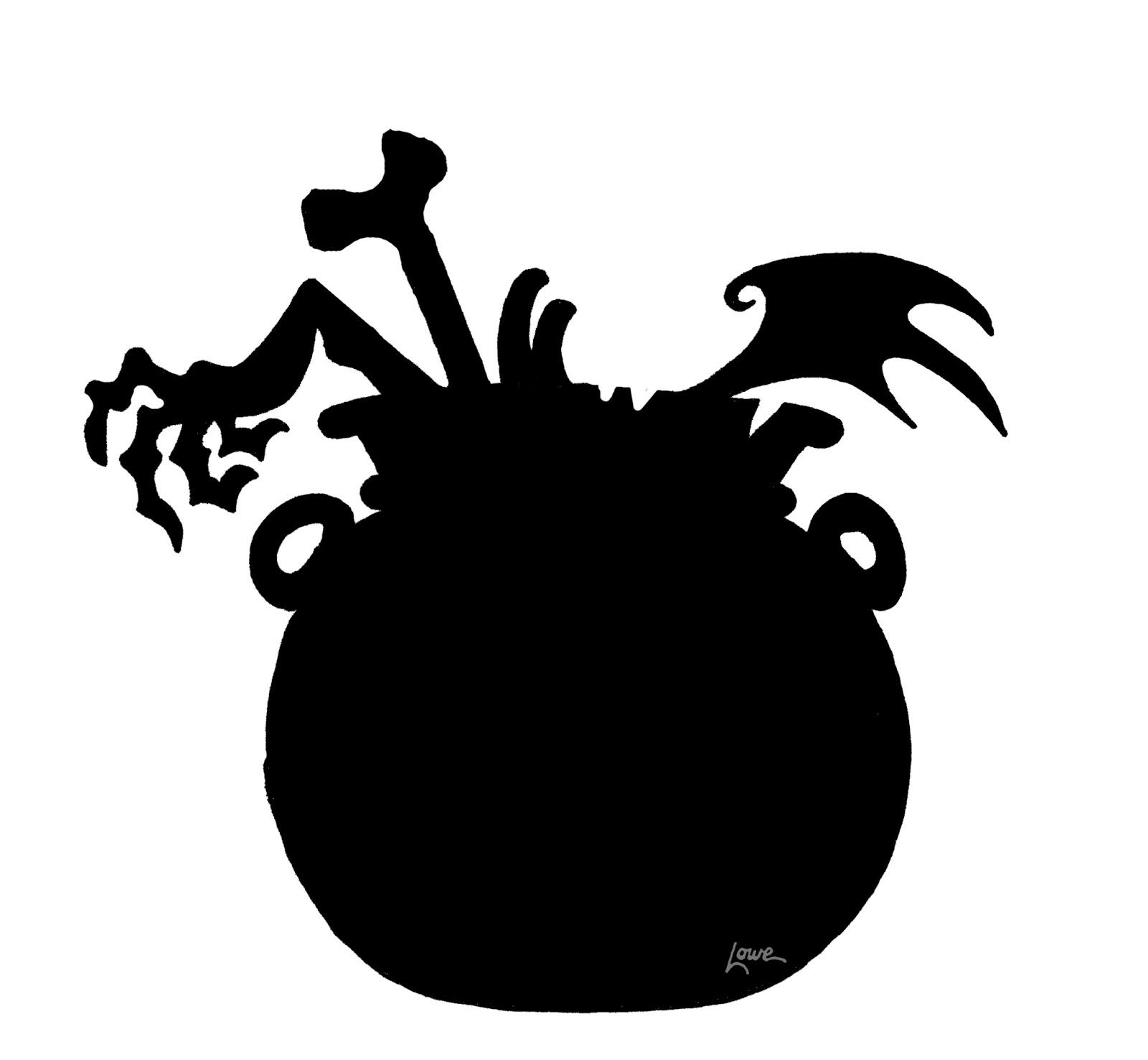 silhouette halloween