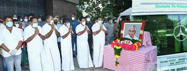 minister duraikannu demise nixs news tamil