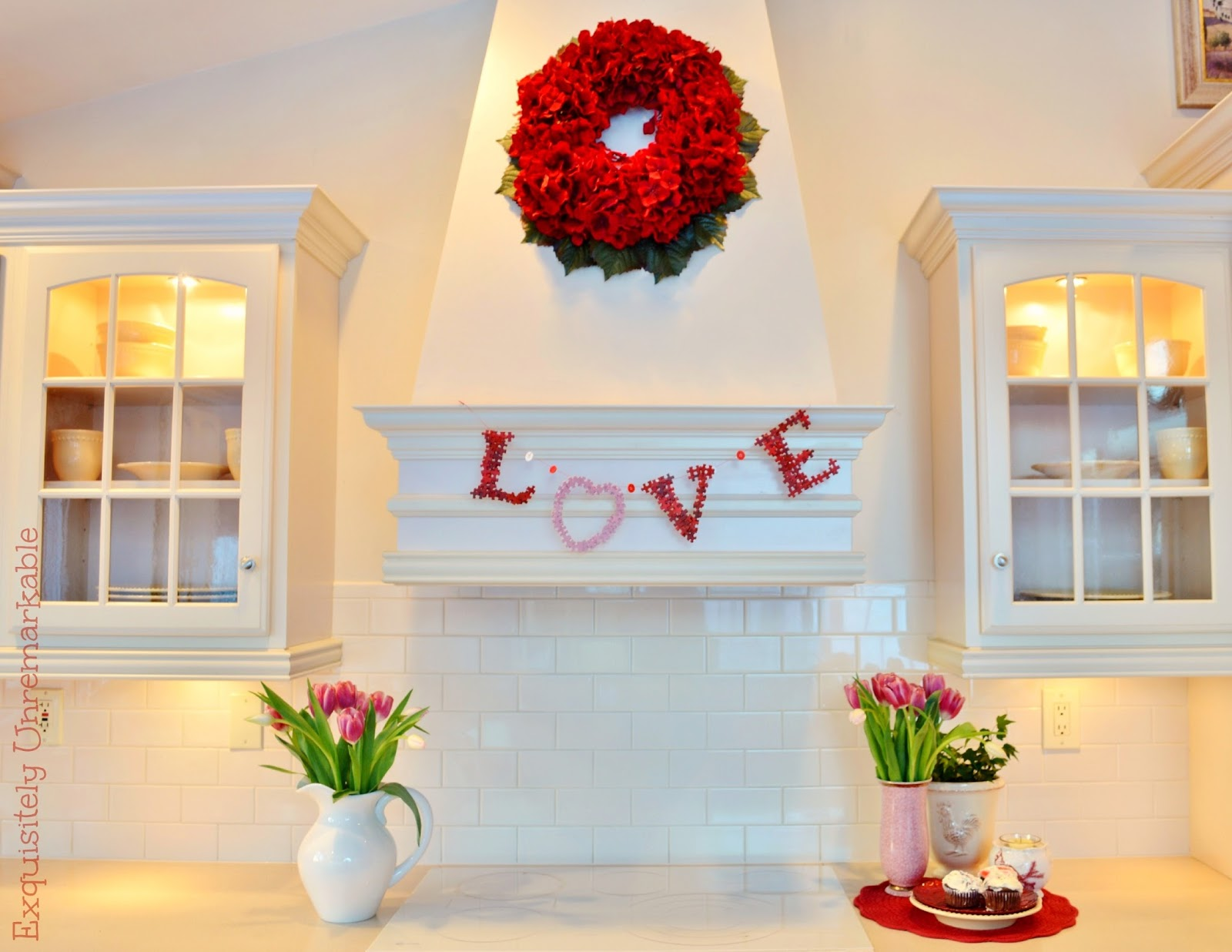 Kitchen Decor For Valentine's Day Love
