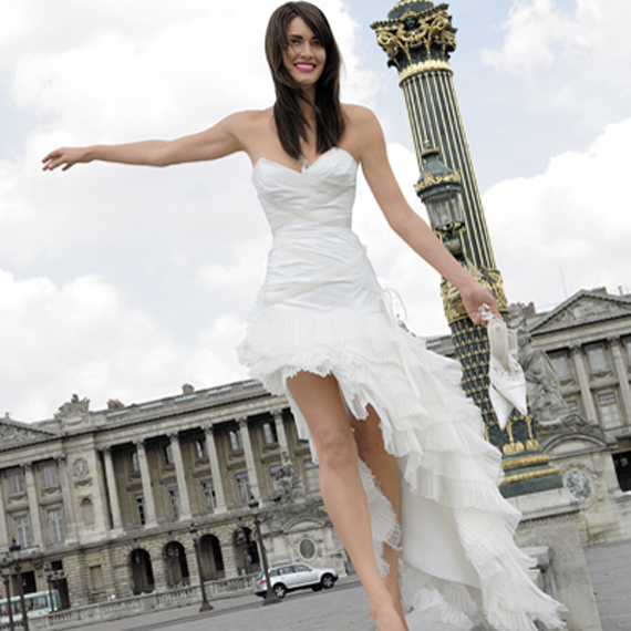 What You Have In Mind Concerning With The Next Wedding Dress 2012 Yeah One Of Biggest Gowns Trends Is Vintage Short