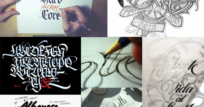 Lettering time the difference between typography Difference between calligraphy and typography