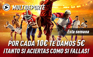 sportium promo multideporte 13-19 julio 2020