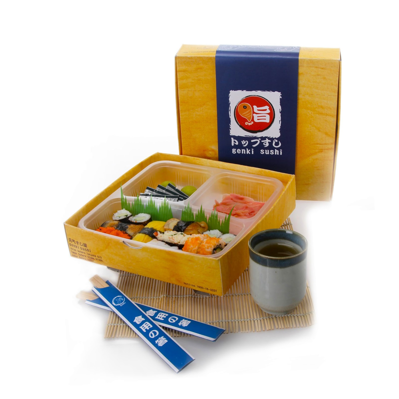 Genki Sushi Take Away Student Project On Packaging Of