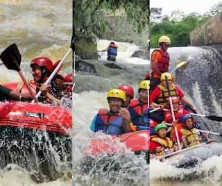 3 Pilihan Paket Rafting di Bogor