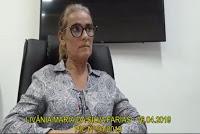 Confira novo trecho da delação de Livania Farias