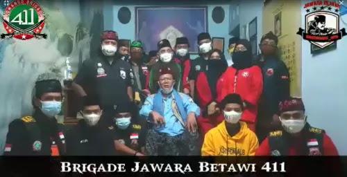 Brigade Jawara 411 Akan Datangi Polda Metro Minta Ditahan Bersama Habib Rizieq