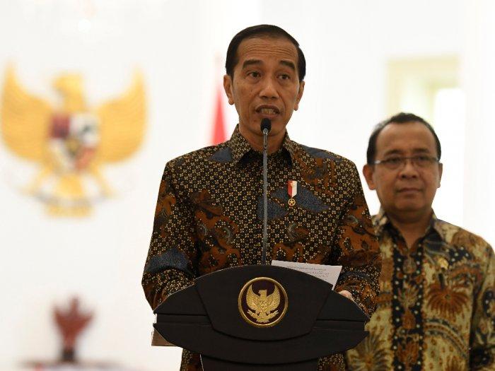Jokowi Menolak Tuntutan Pencabutan UU KPK
