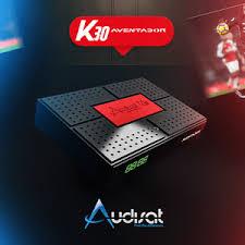 AUDISAT K30 NOVA ATUALIZAÇÃO V2.0.77- 25/08/2021